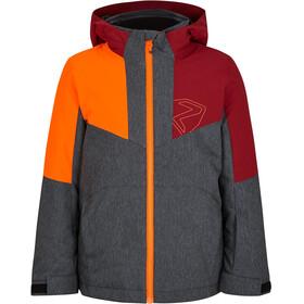 Ziener Antax Ski Jacket Kids, gris